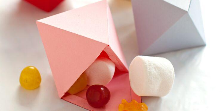 Une idée pour son anniversaire : des boites à bonbons