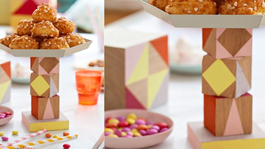 Une idée pour son anniversaire : un présentoir à gâteau