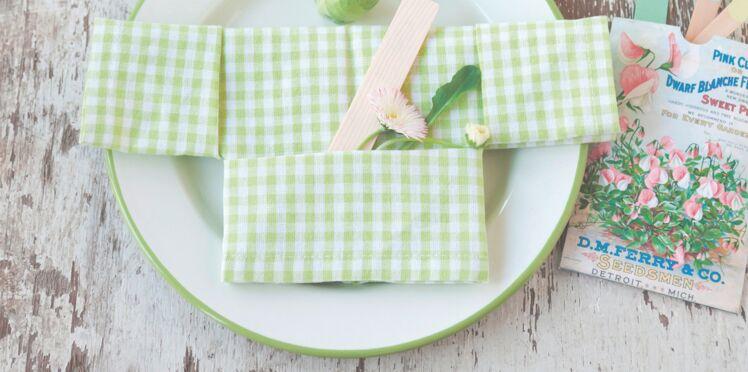 Kimono, un pliage de serviette à la japonaise
