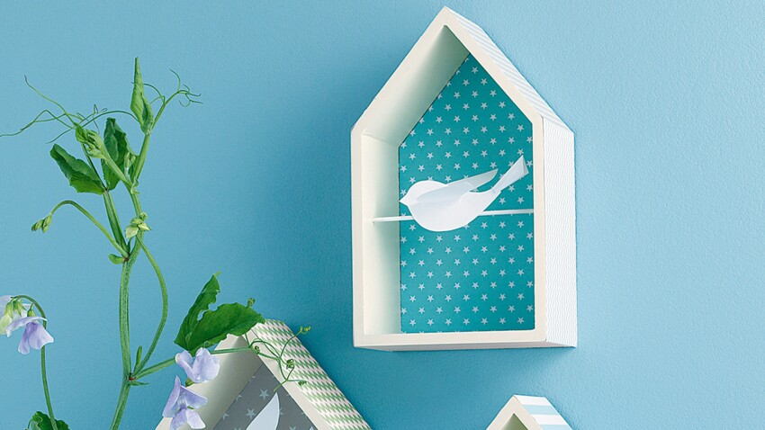 Idées de cadres : des maisonnettes à oiseaux