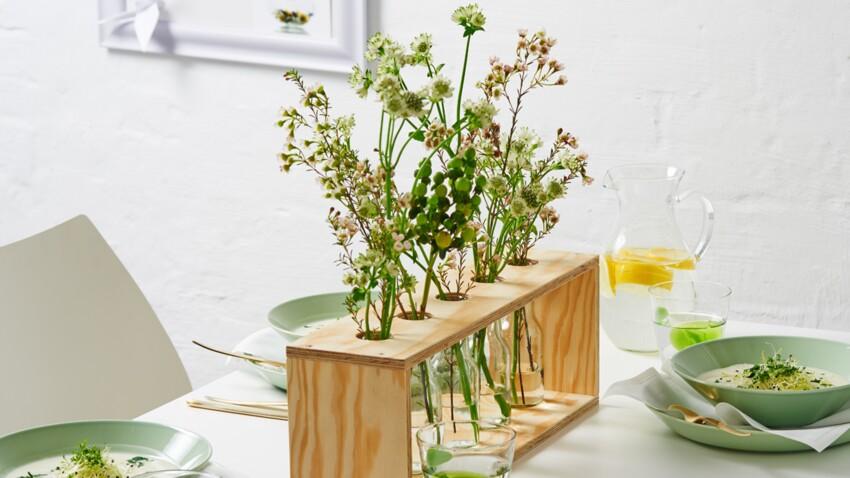 Un vase design pour une déco florale tendance