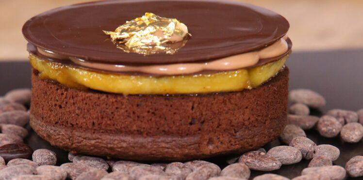 Comment créer une fine feuille en chocolat ?