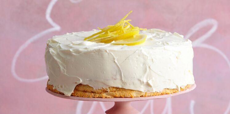 Gâteau moelleux au citron et limoncello