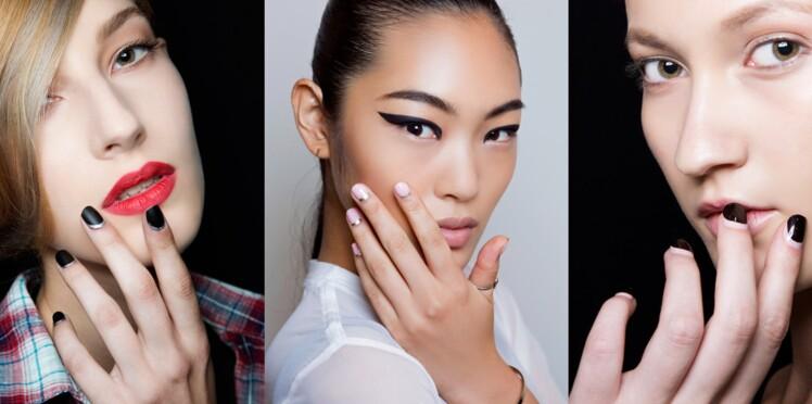 Nail art : la lunule de couleur