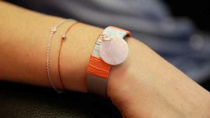 Bracelet express : une manchette avec du fil