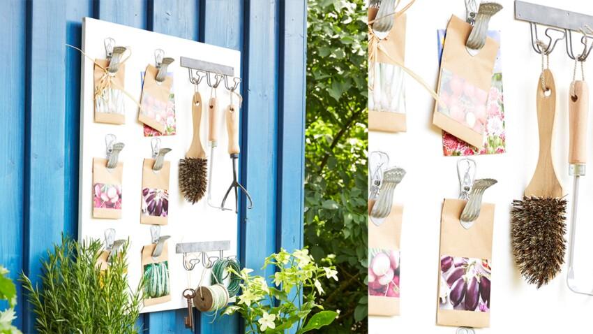 Facile : un rangement jardin pratique et pas cher