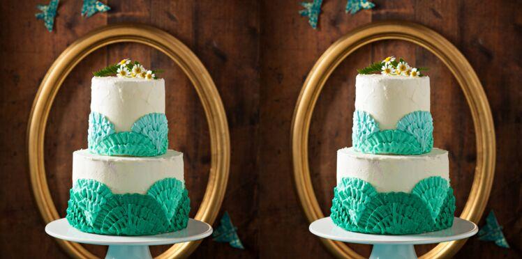Gâteau dentelle à la vanille