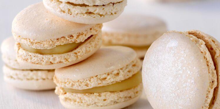 Macarons au camembert