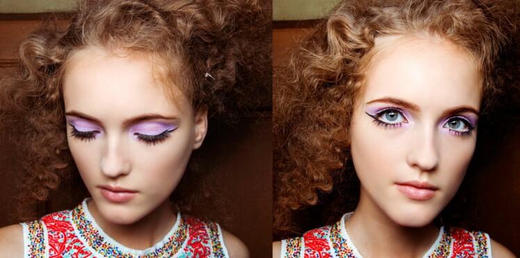 Tendance make-up : la paupière lilas
