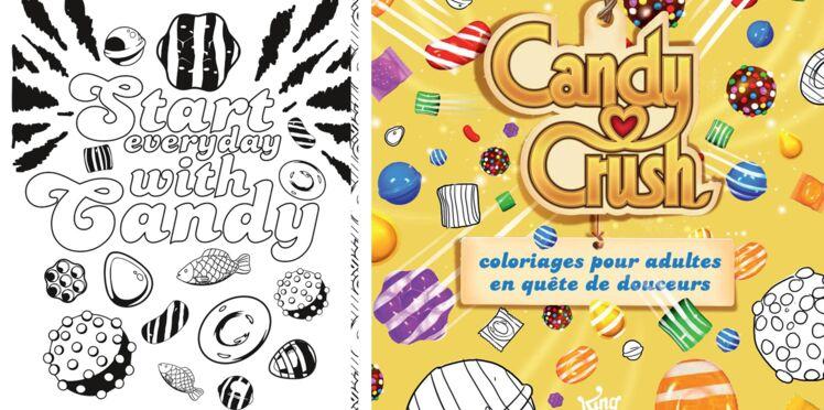 Candy Crush : coloriage gratuit à imprimer