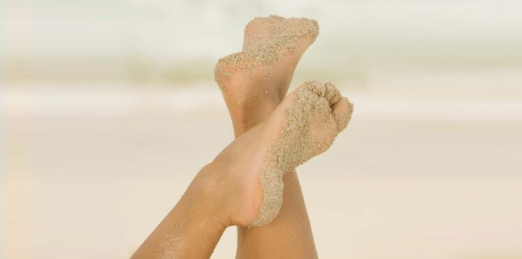 Homemade : un gommage lissant pour des pieds au top