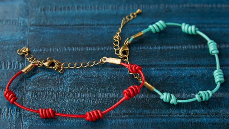 Bracelet tressé : le modèle décénario