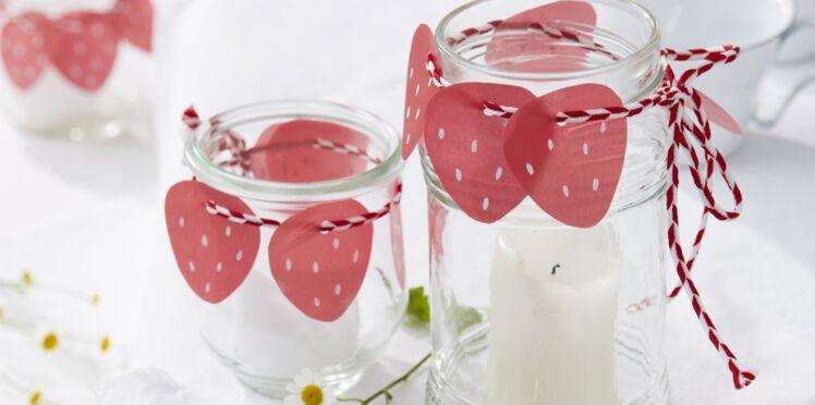 Photophores à fraises