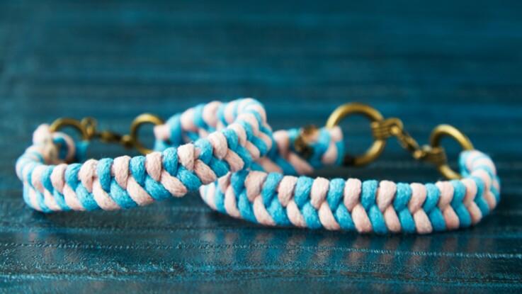 Bracelet tressé : le modèle fish tail