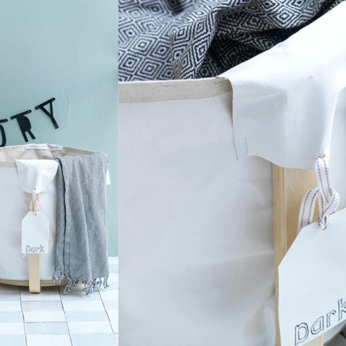 Realiser Des Bacs A Linge Avec Un Tabouret Ikea Femme Actuelle Le Mag
