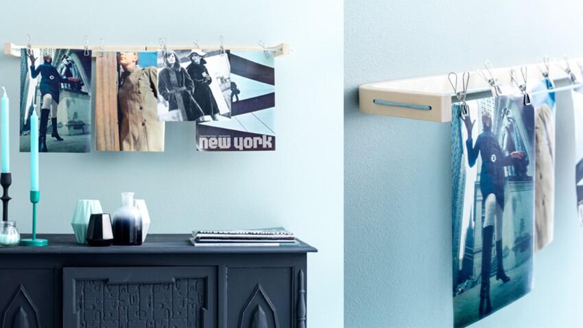 Réaliser un porte-photo avec un tabouret IKEA