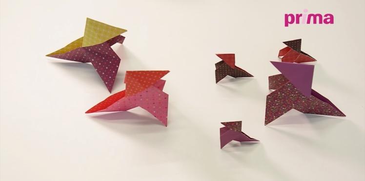 Origami facile : la cocotte en papier