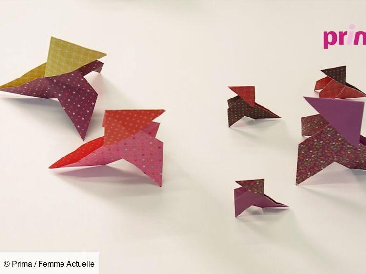 Origami Facile La Cocotte En Papier Femme Actuelle Le Mag