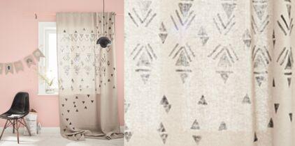 Deco de salon : comment choisir ses rideaux : Femme Actuelle Le MAG