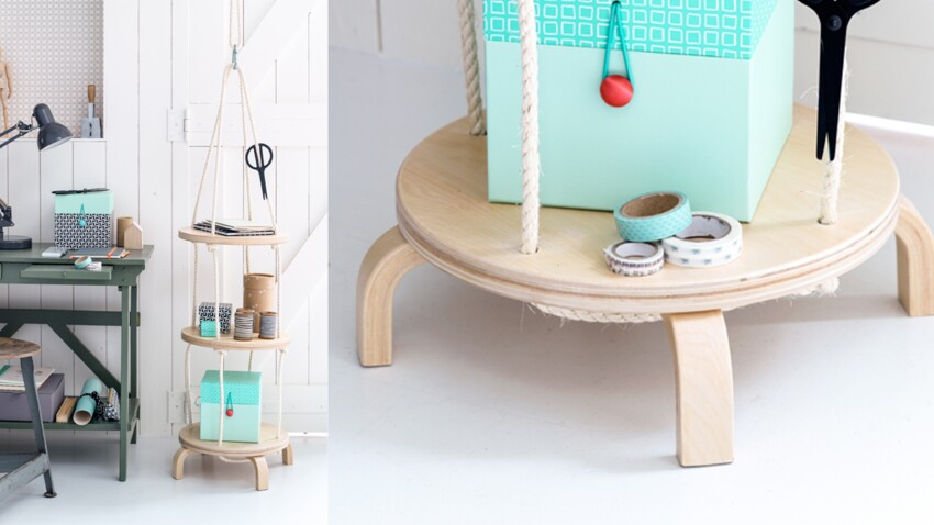 Réalisez un serviteur avec des tabourets IKEA