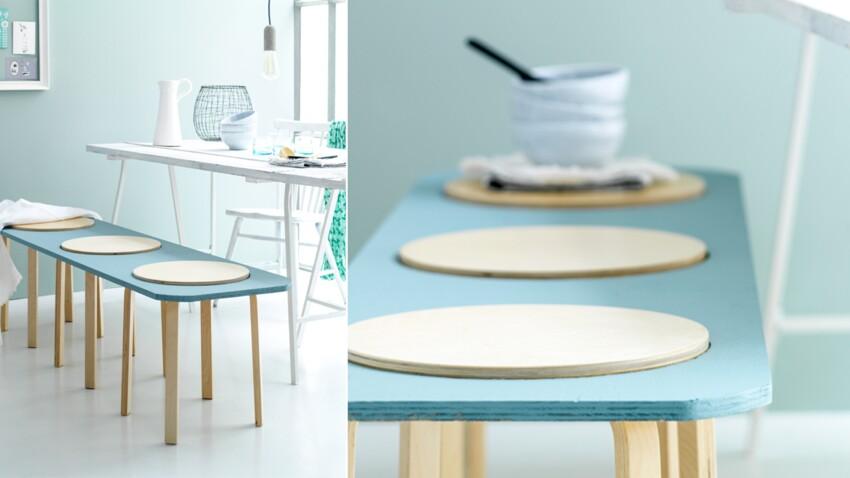 Réaliser un banc avec des tabourets IKEA