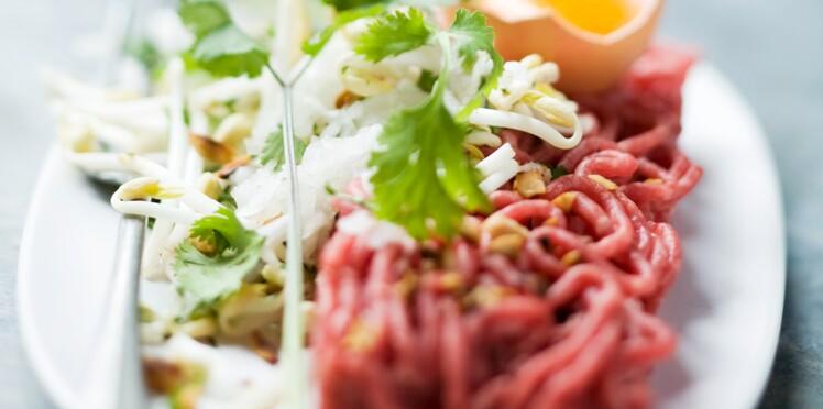 Tartare de bœuf à la thaï
