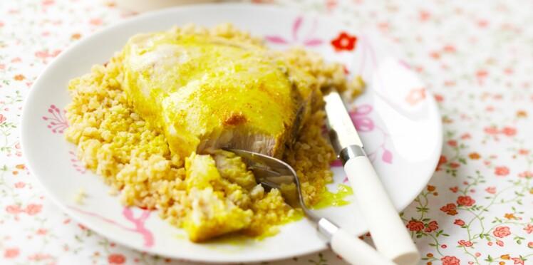 Recette pour enfant : espadon au curry