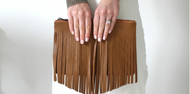 Un sac à franges style country