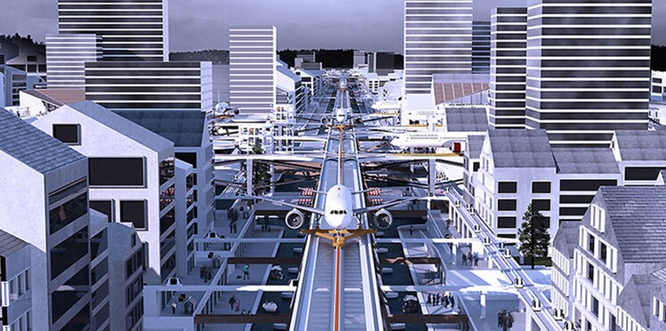 Comme un avion dans la ville