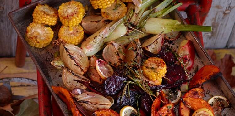 Légumes rôtis aux herbes
