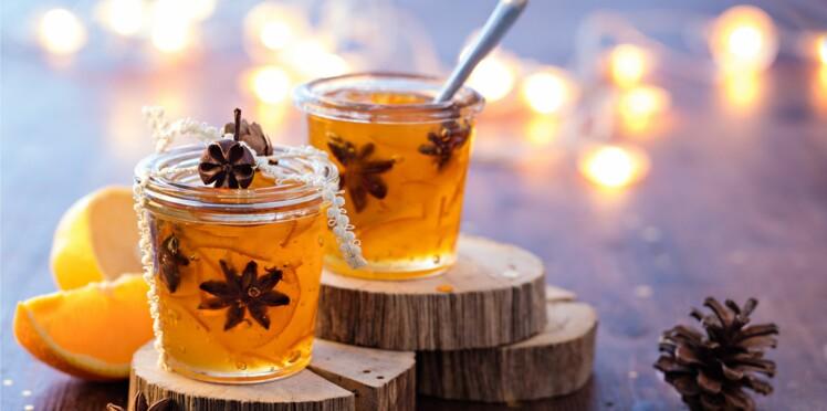 Cadeau d'assiette : une confiture d'oranges épicée