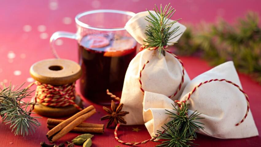 J'offre des kits à vin chaud pour Noël