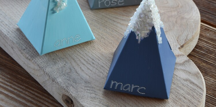 Idée express de Noël : des boites cadeaux d'assiettes