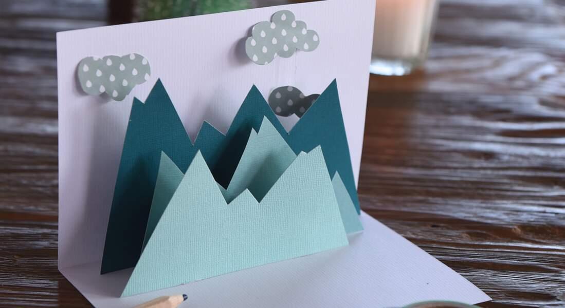 Cartes de Noël à faire soi-même : une carte pop-up