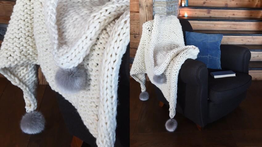 Plaid en laine pour l'hiver