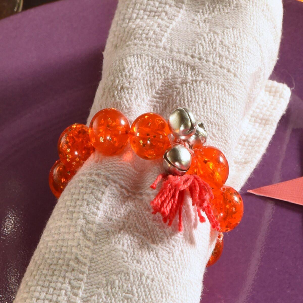 Rond De Serviette Noel Fait Maison décor de noël, déco express : le rond de serviette bracelet