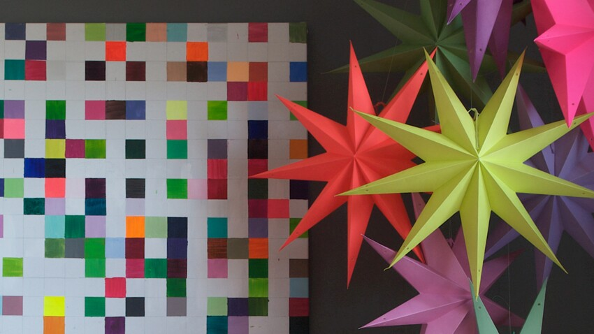 Idée express de Noël : des étoiles géantes en 3D