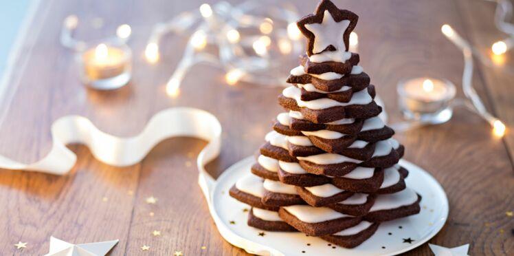 Dessert de Noël : un sapin de sablés