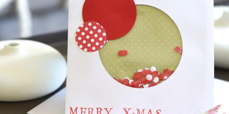 Carte De Noel A Confectionner.Cartes De Noel à Faire Soi Même En Scrapbooking Femme