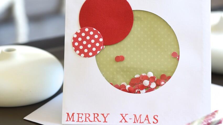 Cartes de Noel à faire soi-même en scrapbooking