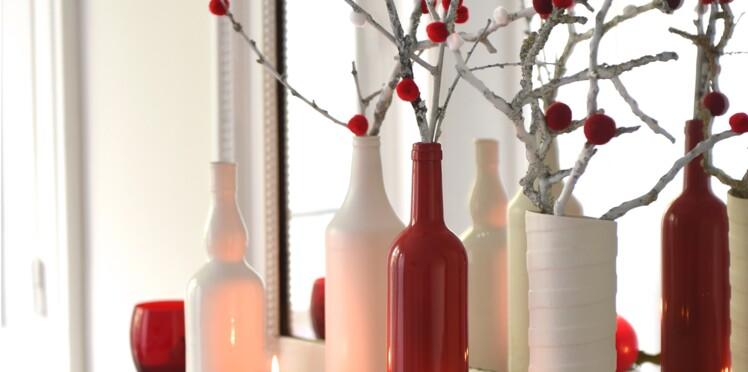 Activités manuelles de Noël : des soliflores express