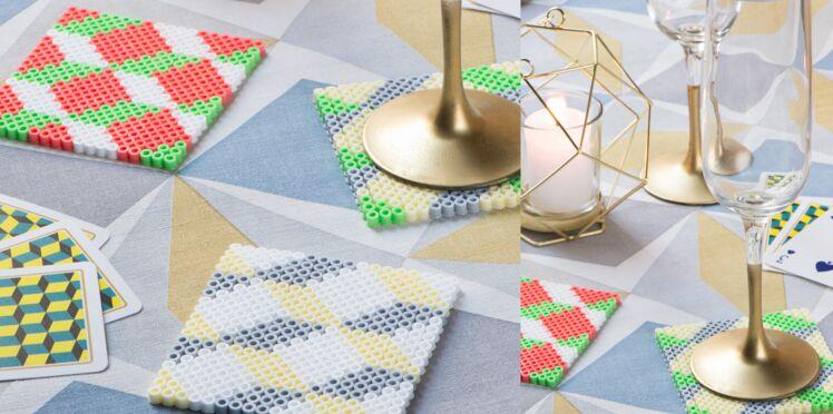 Idée cadeau pour Noël : des sous-verres graphiques