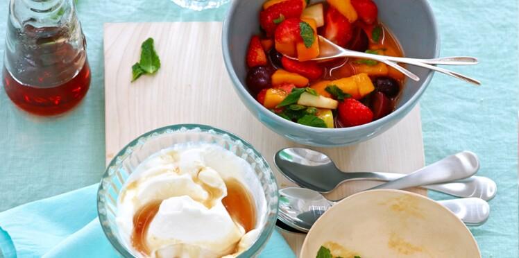 Recette fraîcheur : Salade de fruits comme un muesli