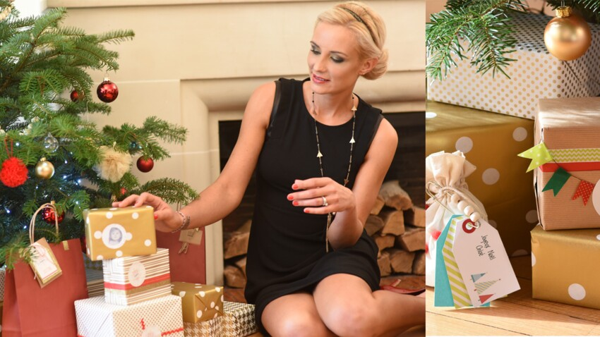 Créez votre déco de Noël avec Elodie Gossuin