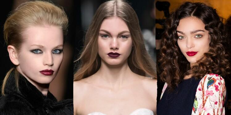 Maquillage : 3 nuances de rouge pour vos lèvres