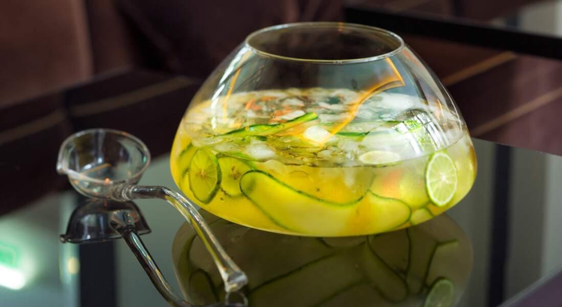 Un cocktail vodka-pomme : l'Aloé loa