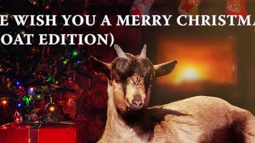 Un disque de Noël qui peut rendre chèvre