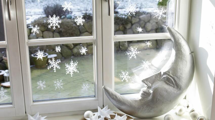Une déco de fenêtre originale pour Noël