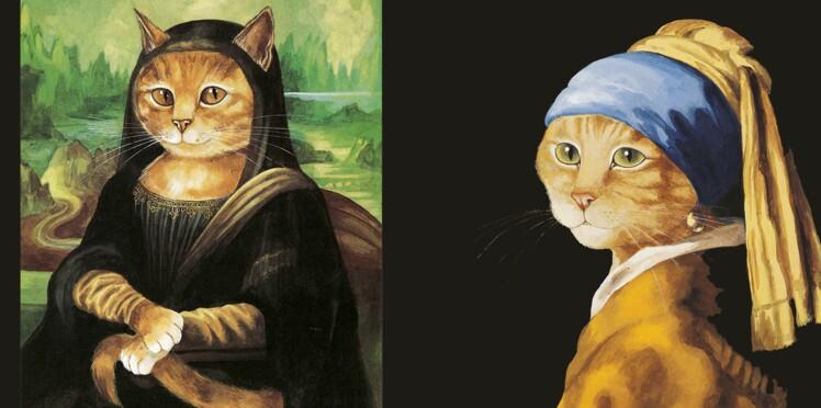 Loufoque : quand les chats investissent l'art