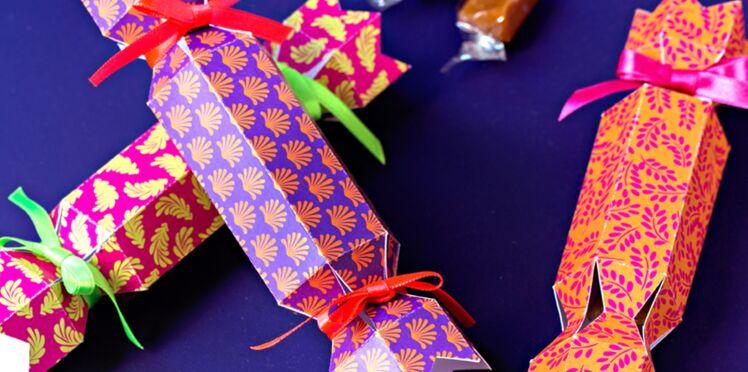 Cadeaux d'assiette : des friandises de Noël en papillotes